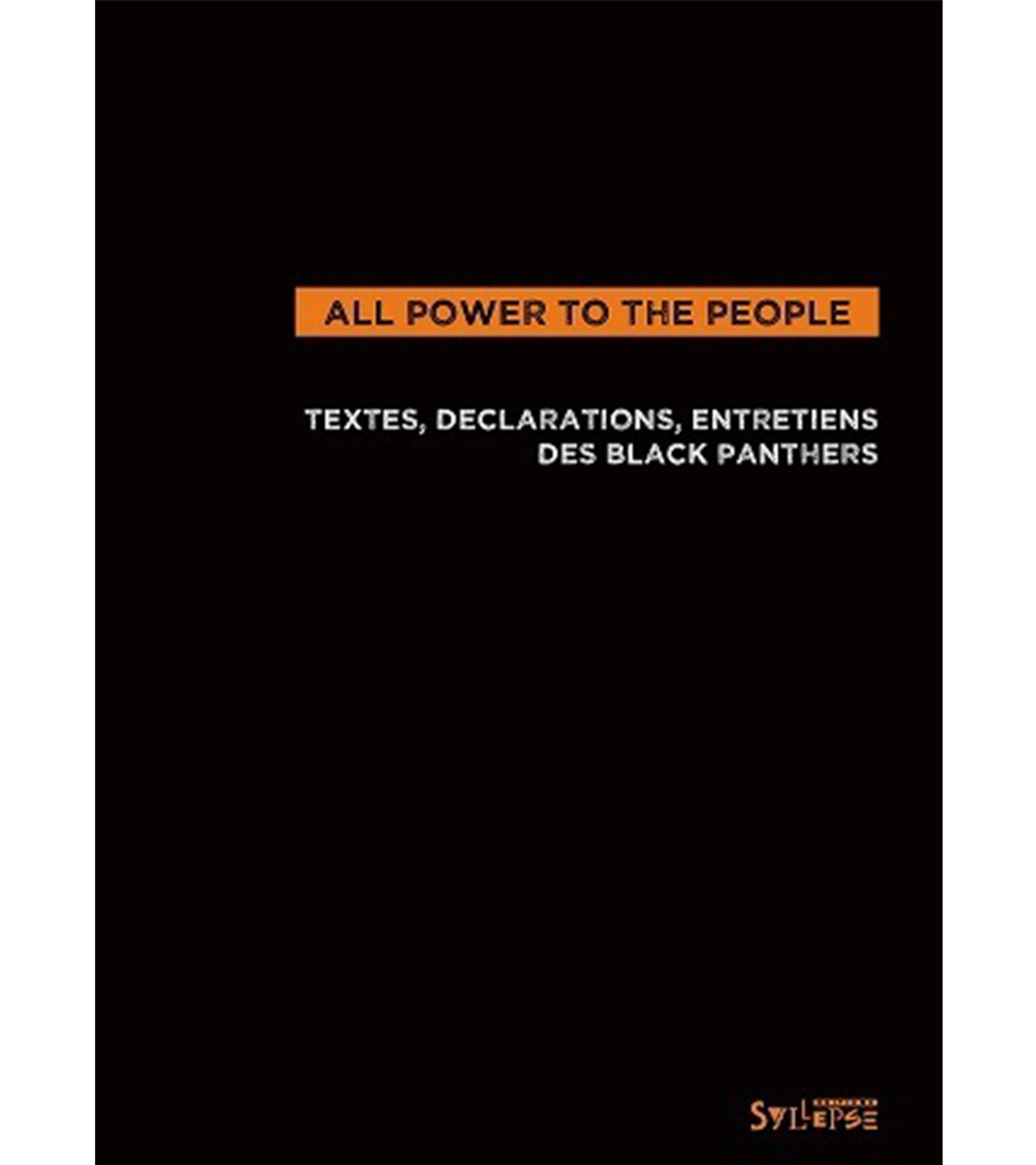"Livre ""All power to the people"""