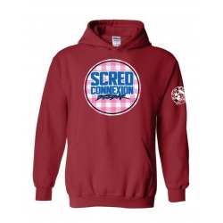 Sweat Capuche Bezbar Tati Bordeaux