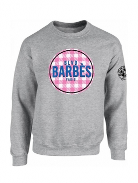 Sweat Barbes Tati Gris