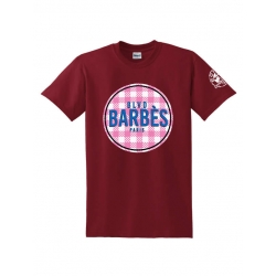 Tee Shirt Barbes Tati bordeaux