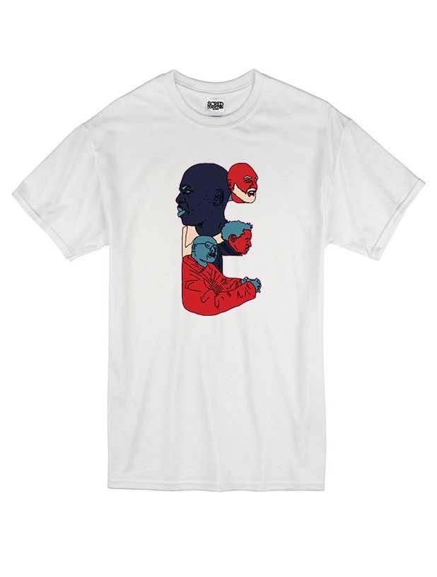 T Shirt Blanc by Sims - E