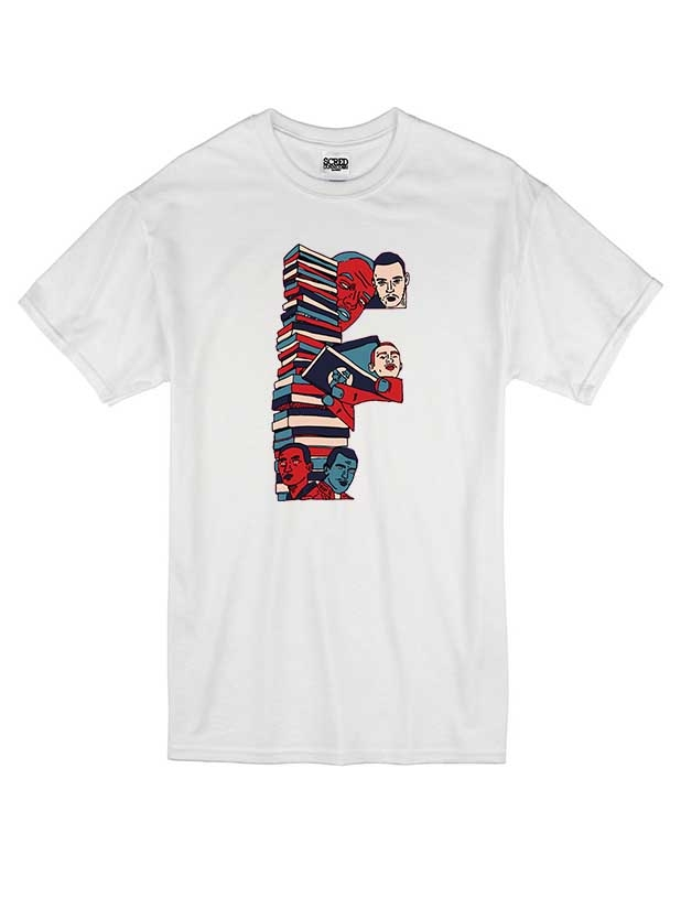 T Shirt Blanc by Sims - F