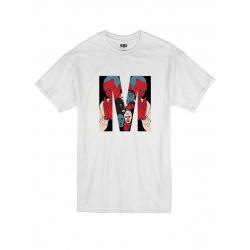 T Shirt Blanc by Sims - Dj MEHDI
