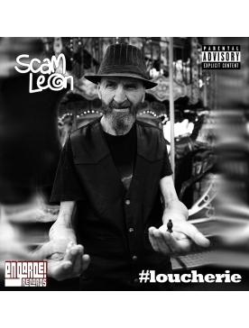 """Album Cd """" #loucherie """" _ Scam Leon"""