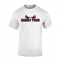 T-Shirt Bandit Prod blanc