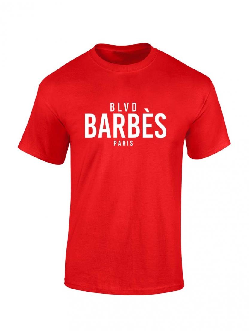 T Shirt Rouge enfant BLVD
