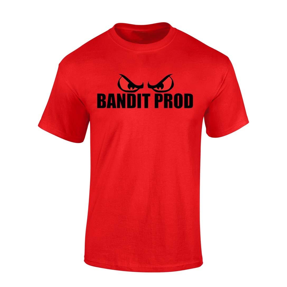 T-Shirt Bandit Prod Rouge