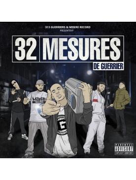 """album cd """"32 mesures de guerrier"""""""