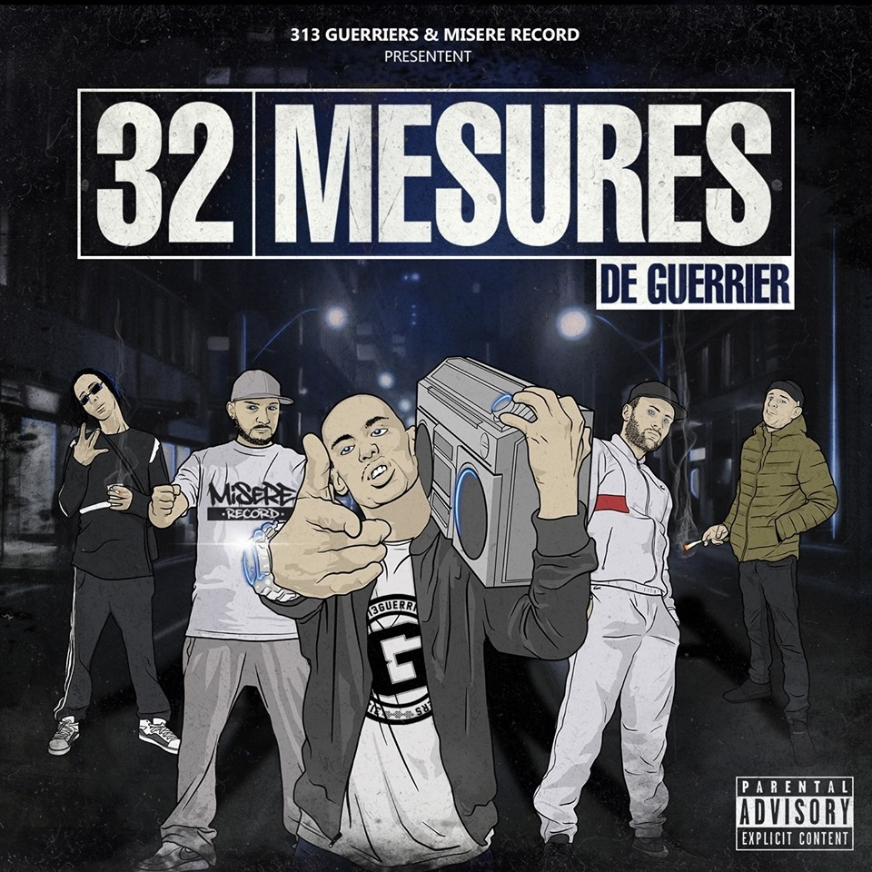 "album cd ""32 mesures de guerrier"""