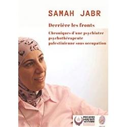 """Livre - DR Samah Jabr """"Derrière les fronts"""""""