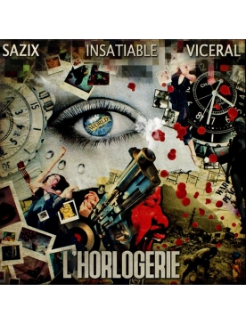 """Album Cd """"l'horlogerie"""" - Insatiable"""