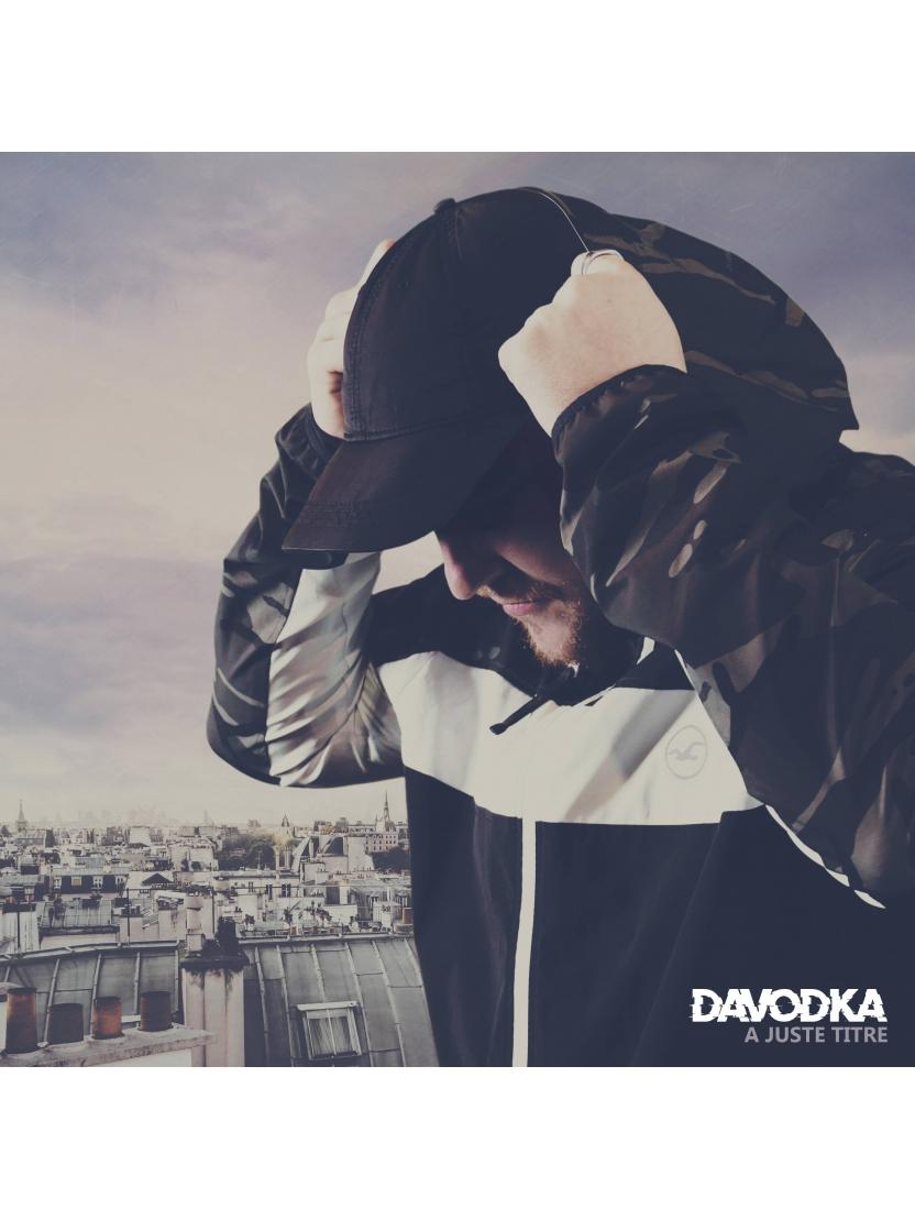 """album cd Davodka """"A juste titre"""""""