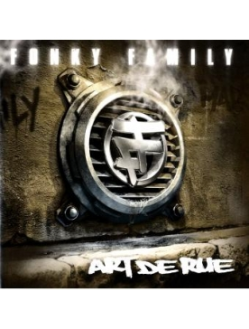 "Album vinyl Fonky Family ""Art de rue"""