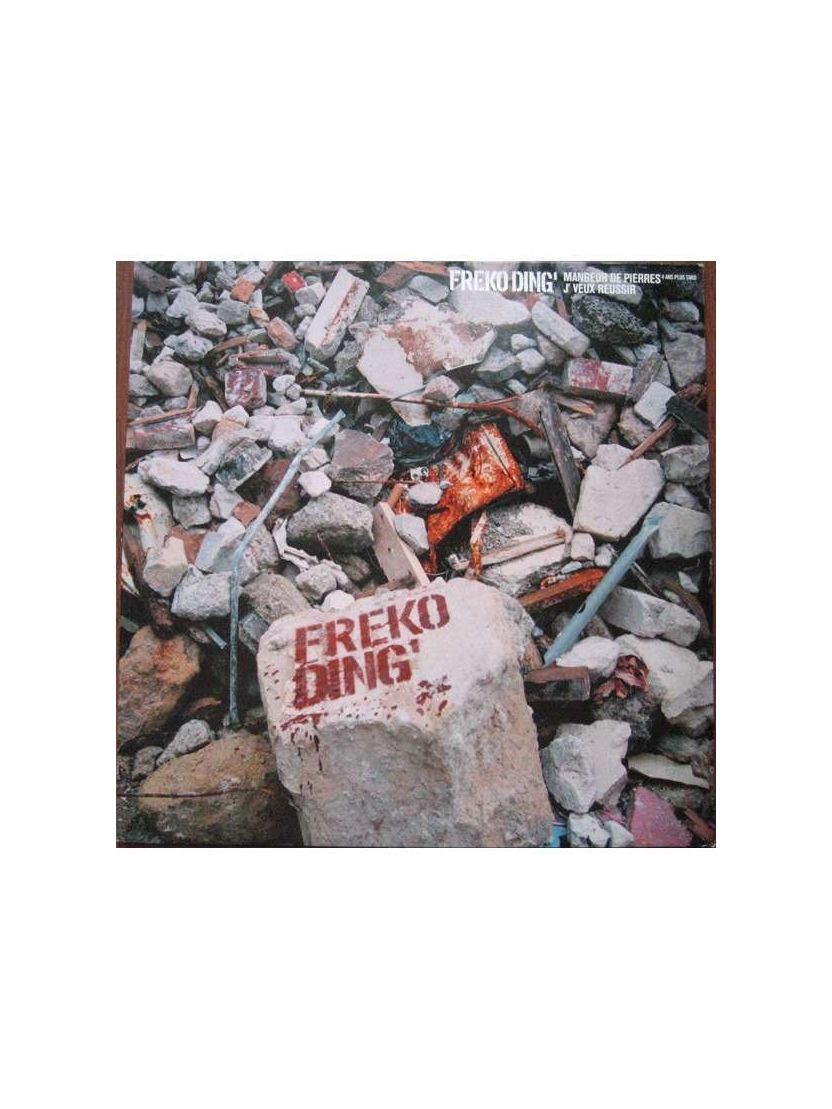 "Maxi vinyl freko ding 'Mangeur de pierre"""
