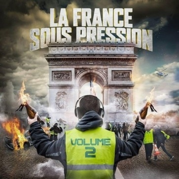 "cd album ""la Françe sous pression 2"""