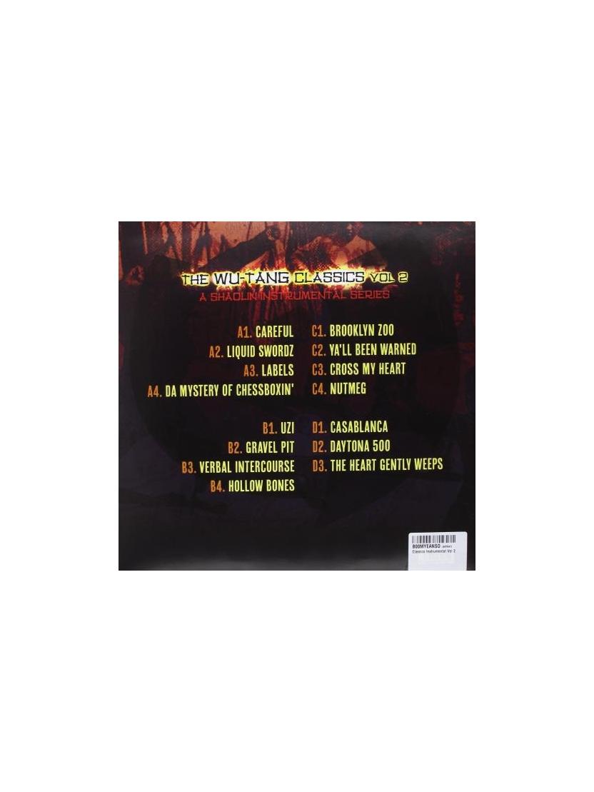 "album vinyll instrumentale ""wu-tang classics"""