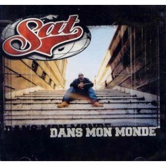 """album vinyl Sat """"Dans mon monde"""""""