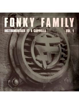 "album vinyl Fonky Family ""instrumentaux & accapela"" volume 1"