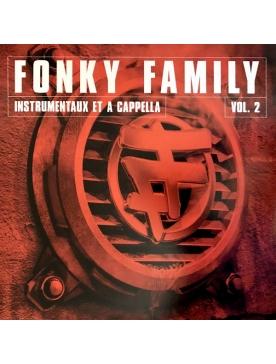 "album vinyl Fonky Family ""instrumentaux & accapela"" volume 2"