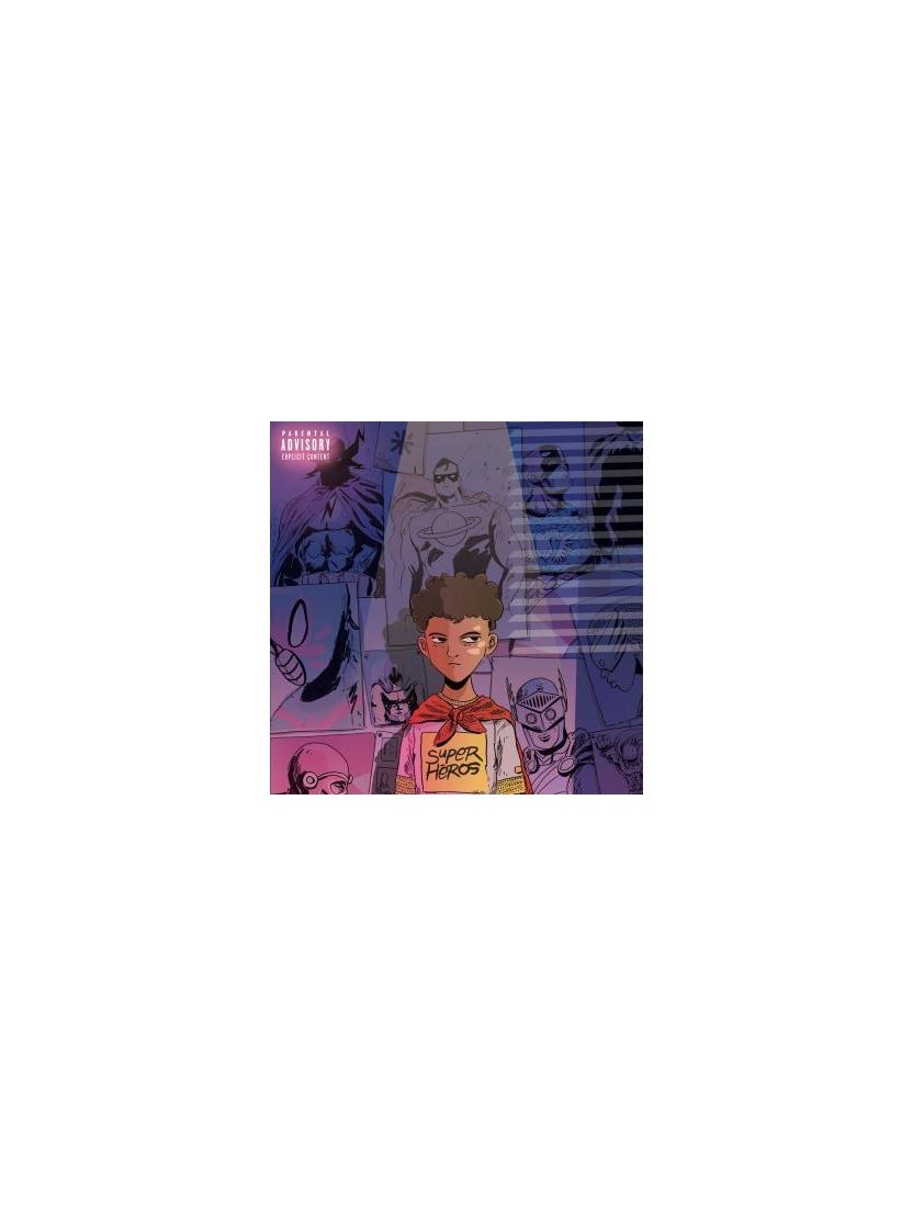 "Album cd ""Demi Prtion"" - super heros"