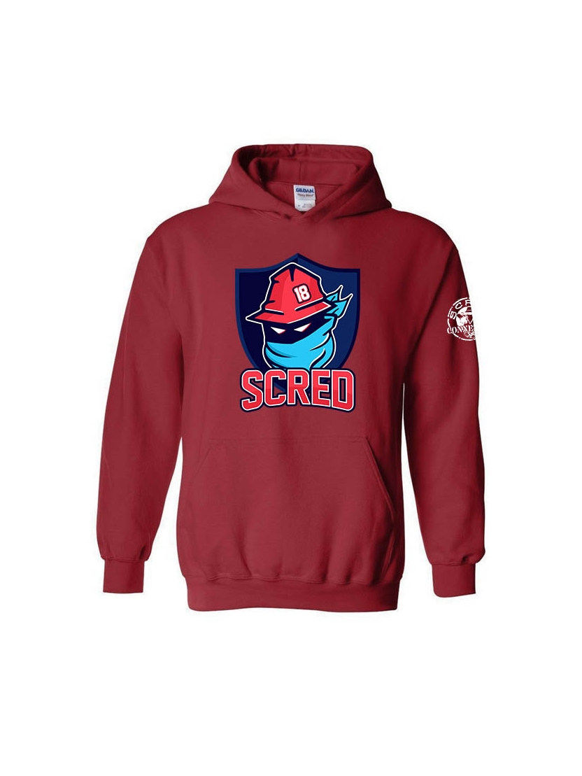 "Sweat Capuche ""NHL"" Bordeaux"