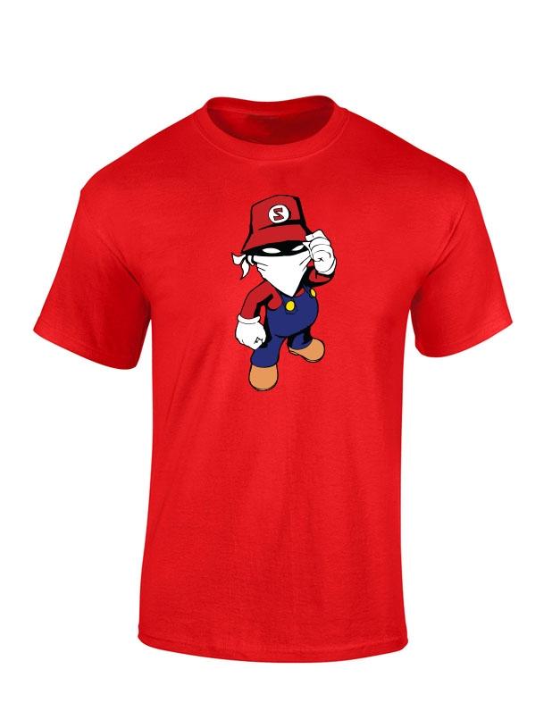 T Shirt Rouge enfant Mario