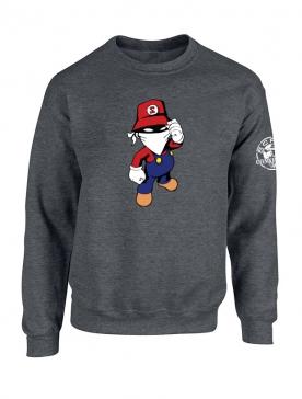 Sweat Gris foncé Mario