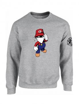 Sweat Gris Mario