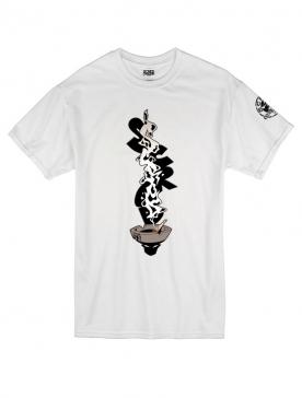 Tee Shirt Cendar blanc