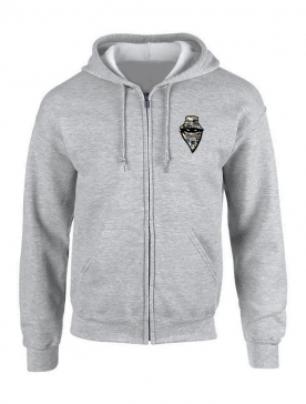 Sweat Zippé Story Gris