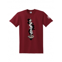 Tee Shirt Cendar Bordeaux