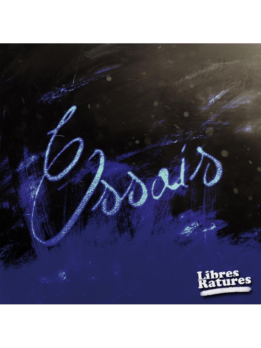 """Album Cd """"Libres Ratures"""" - Essais"""