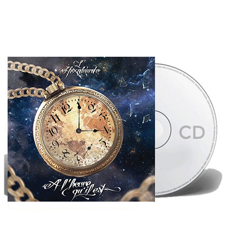 """Album Cd L'hexaler """" A l'heure qu'il est"""""""