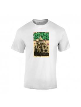 Tshirt Blanc fonce Soul Sacre Coeur
