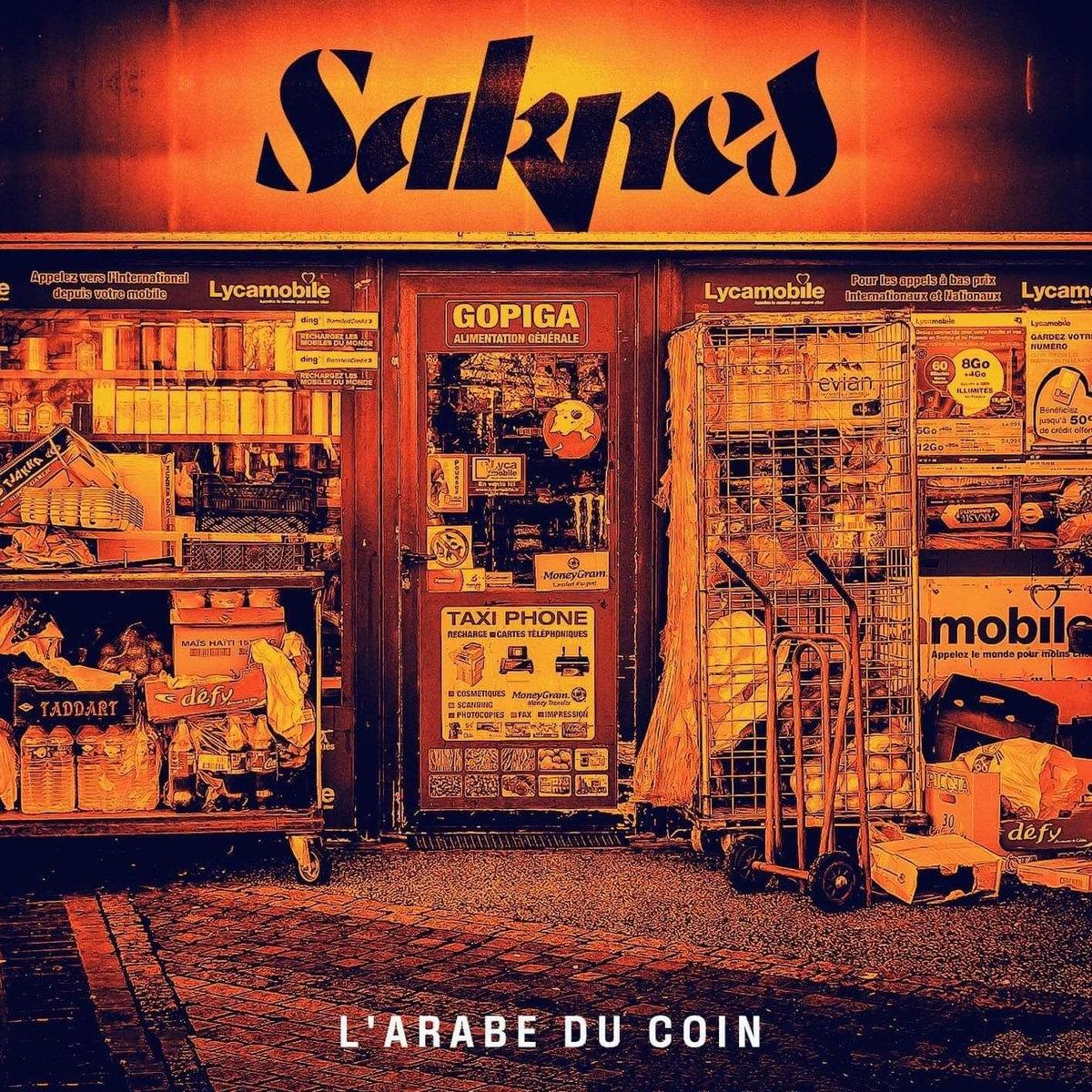 "Album Cd ""Sadnes"" - L'arabe du coin"