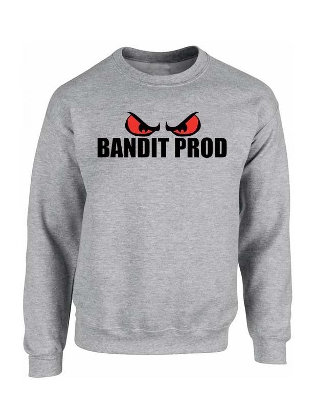 Sweat gris Bandit Prod