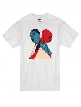 T Shirt Blanc by Sims - X-MEN