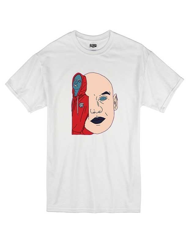 T Shirt Blanc by Sims - DON CHOA