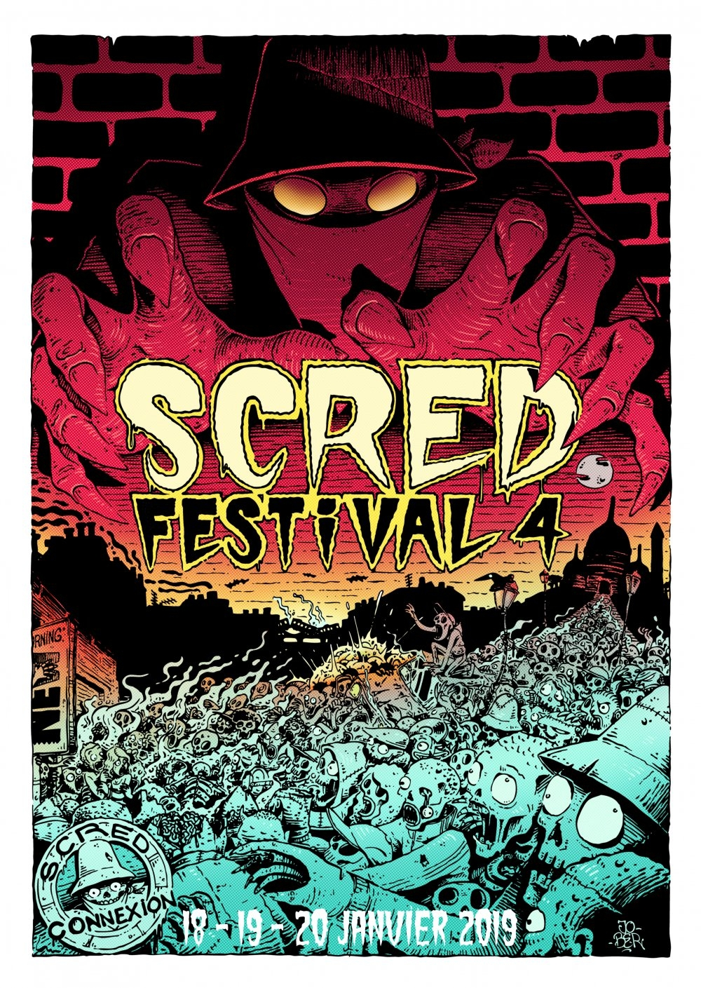 Pack Affiches Scred Festival