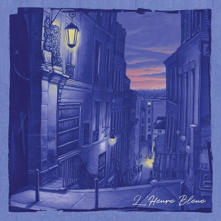 "Album Cd ""KERJO STYLE - L'heure bleue"""