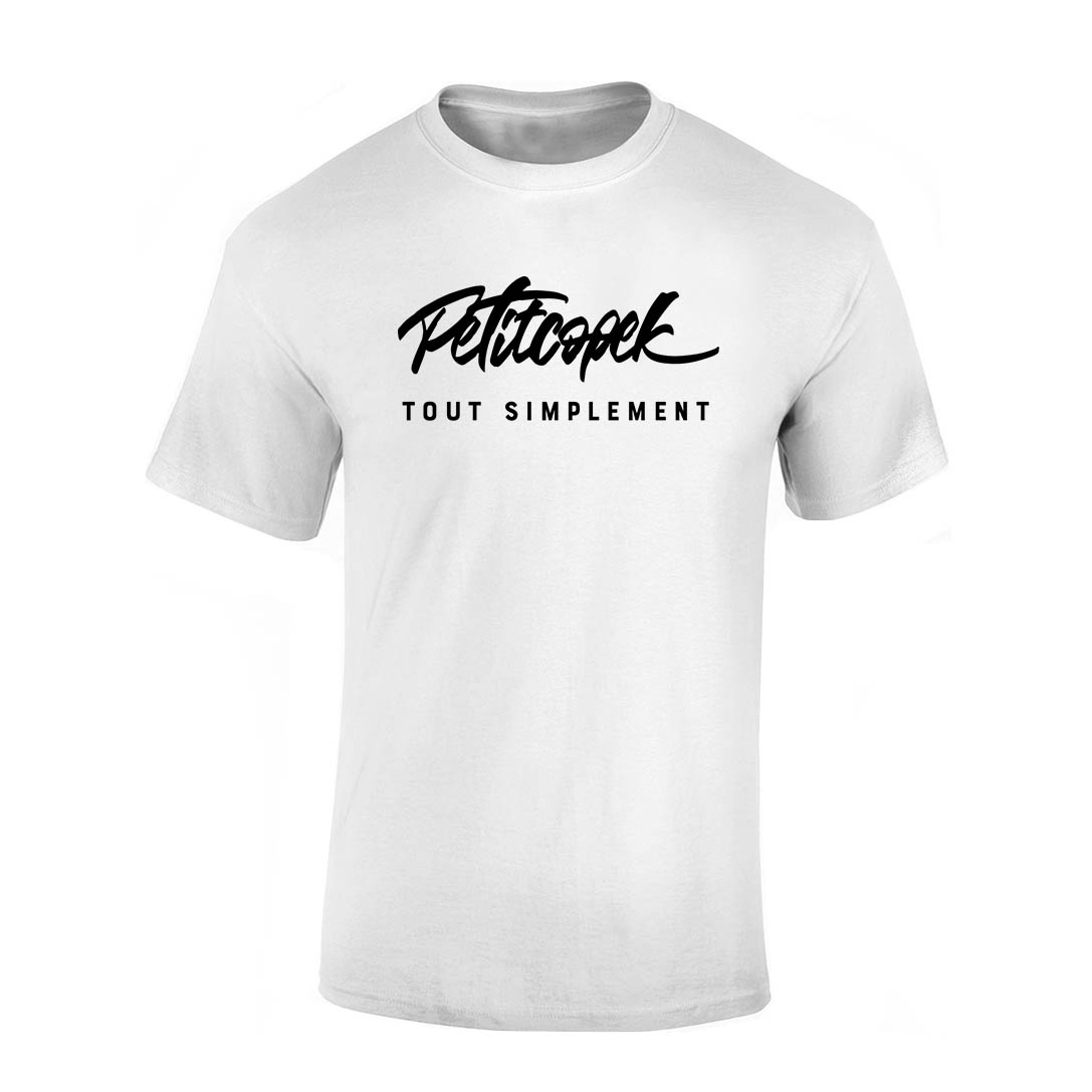 TShirt Blanc Petitcopek