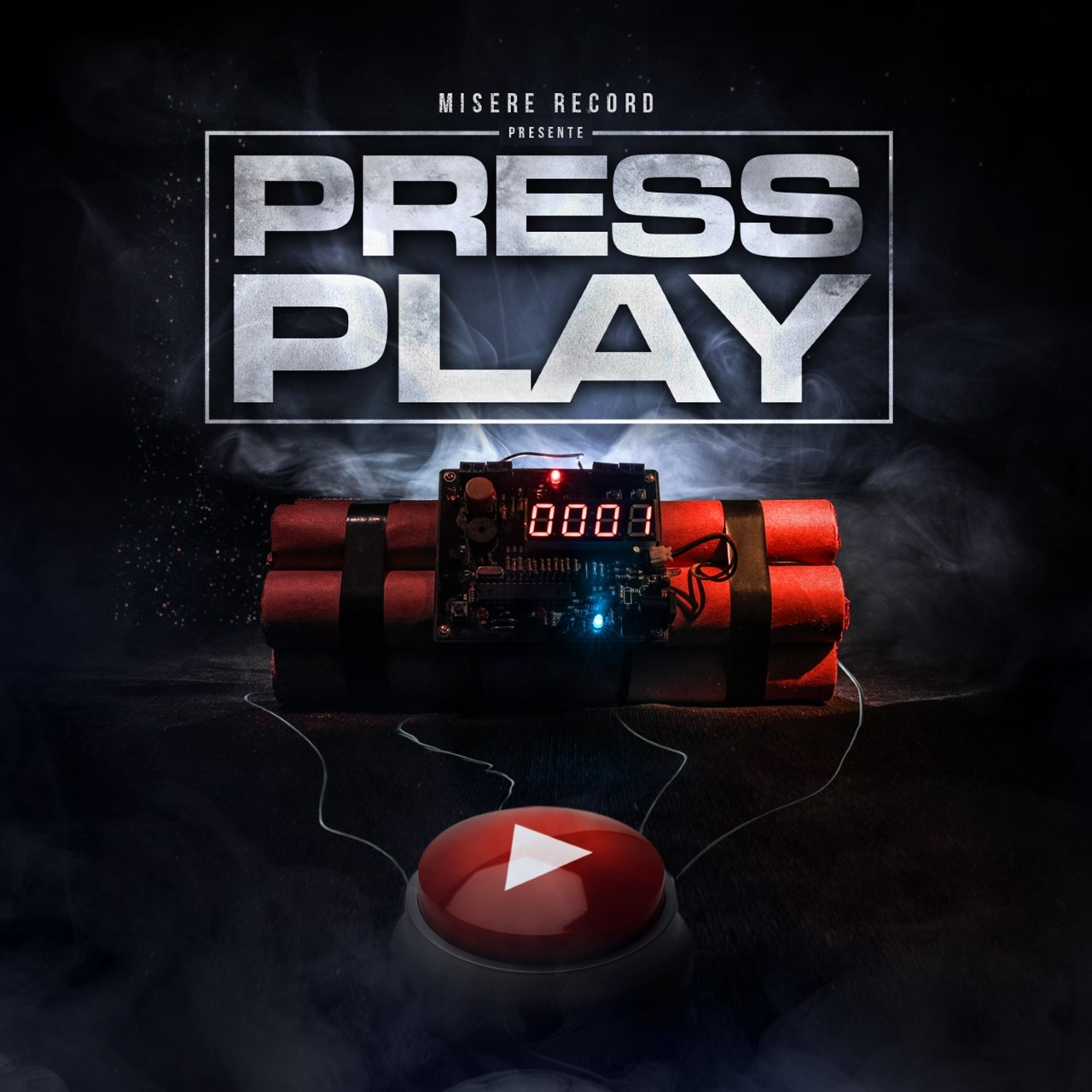 "Album Cd ""Misère Record - Press Play"""