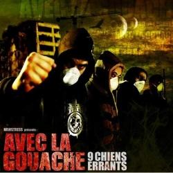 """Album Cd """"9 CHIENS ERRANTS - AVEC LA GOUACHE"""""""