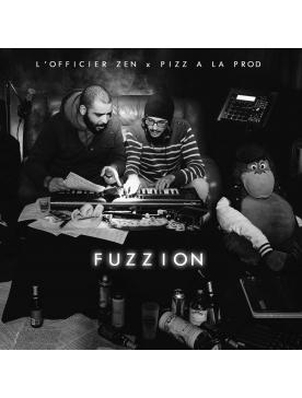 """Album Cd """"L'officier Zen x Piz à la prod - Fuzz ion"""""""