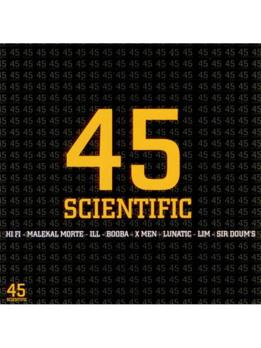 """Album Cd """"45 SCIENTIFIC"""""""