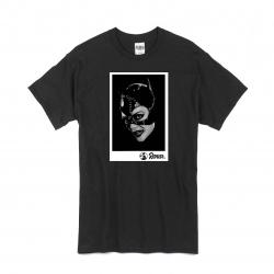 T Shirt Noir Renar - Catwoman