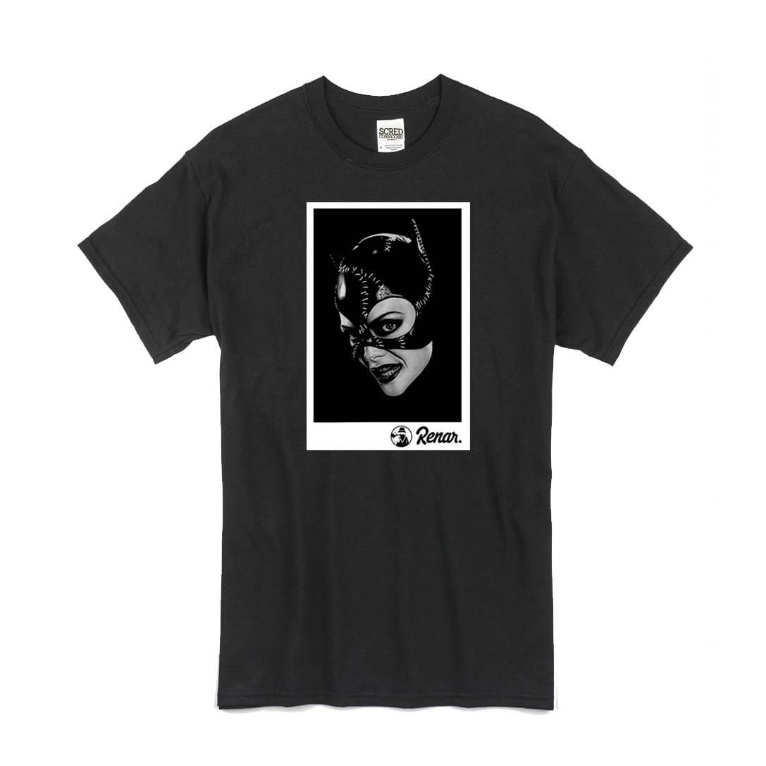 T Shirt Gris Renar - Catwoman