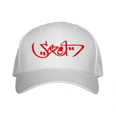 Casquette blanche Scred Arabic