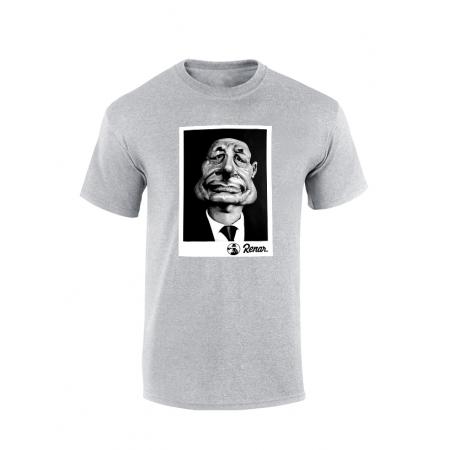 T shirt Renar Chirac Gris