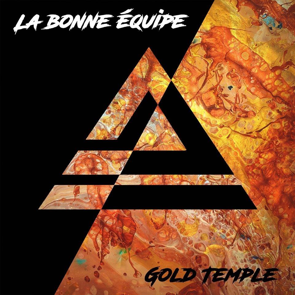 """Album Cd """"La bonne équipe - Gold Temple"""""""